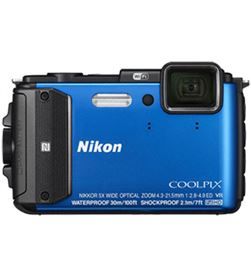 Nikon 999SAW130BL1 camara fotos coolpix aw130 outdoor 16mp azul - 999SAW130BL1