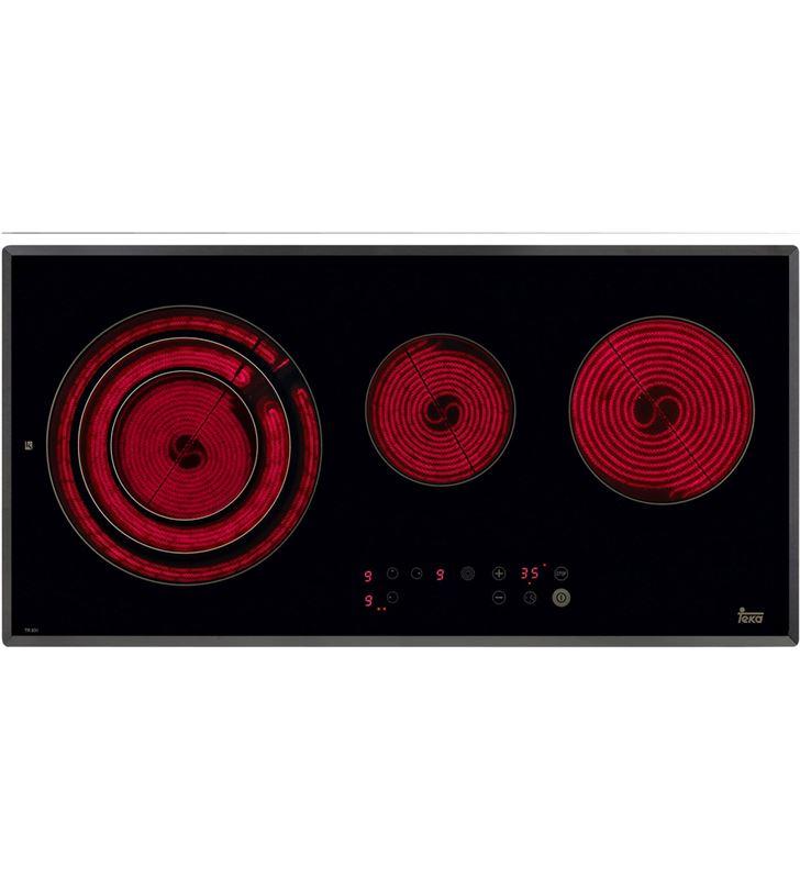 Placa vitro Teka tr831hz 3 fuegos 80cm biselada 10210004 - 10210004