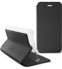 Funda folio Ksix slim standing iphone 6/6s negra B0925FU81 - B0925FU81