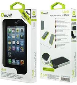 Muvit funda ibelt (bumper) negra iphone 5 mubkc0613 - MUBKC0613