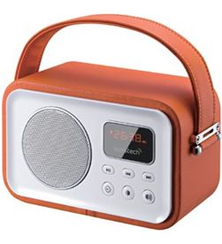 Radio portatil Sunstech rpbt450 or naranja RPBT45OR - RPBT45OR