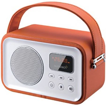 Radio portatil Sunstech rpbt450 or naranja RPBT45OR