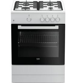 Beko cocina gas FSG62000DWL 4f blanca Cocinas - FSG62000DWL