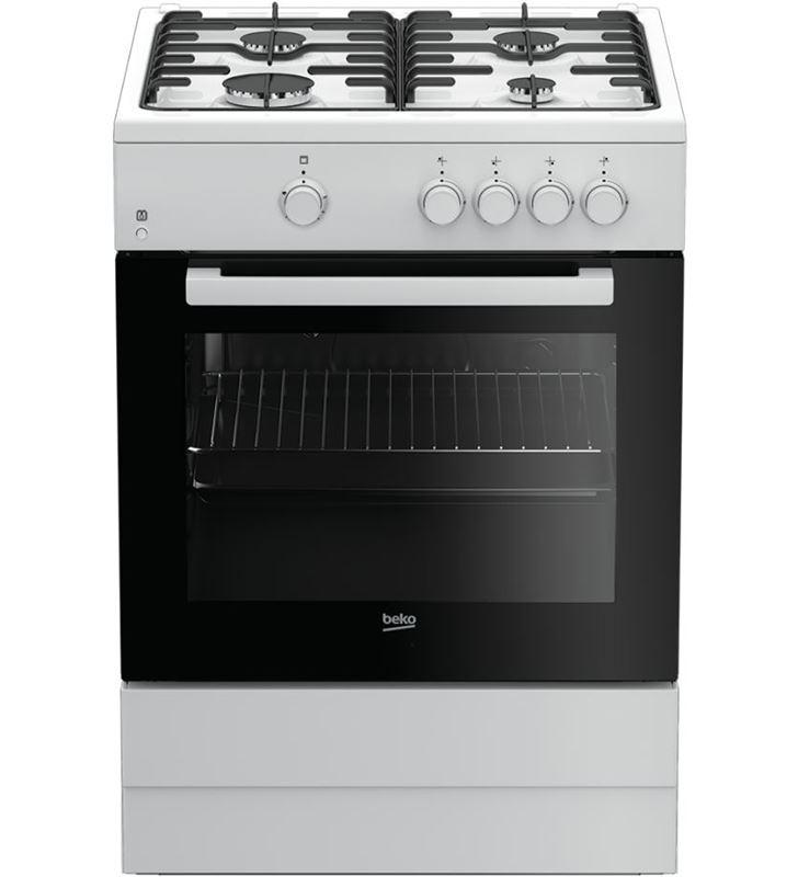 Beko FSG62000DWL cocina gas 4f blanca Cocinas - FSG62000DWL
