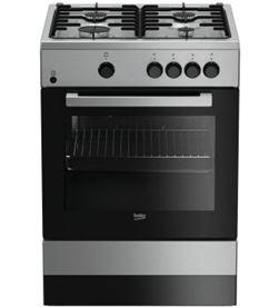 Beko cocina gas FSG62000DXL 4f inox - FSG62000DXL