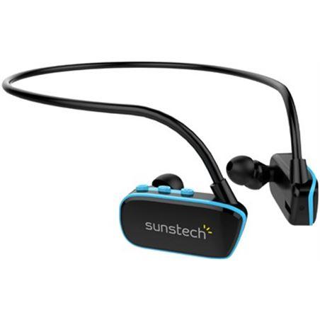 Sunstech auricular mp3 deporte argos4gbbl azul