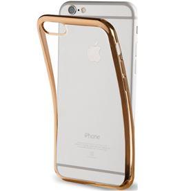 Muvit MLBKC0082 funda tpu marco dorado bling iphone 7 - MLBKC0082
