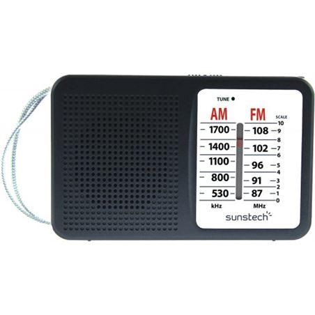Sunstech radio portatil RPS411BK negra