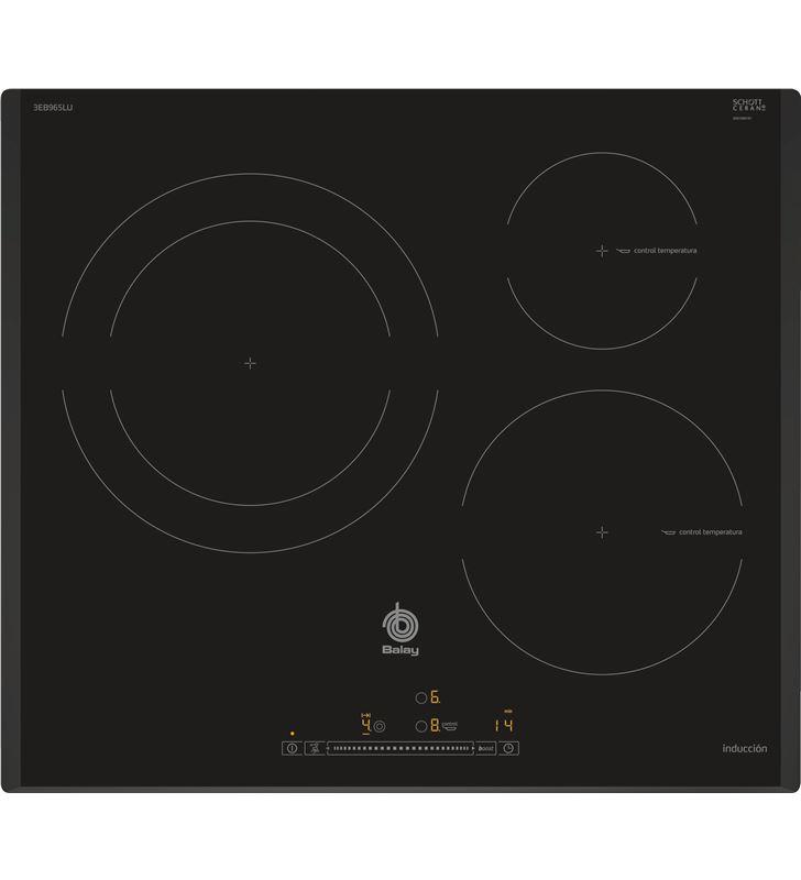 Balay placa induccion 3EB965LU 3f biselada - 3EB965LU