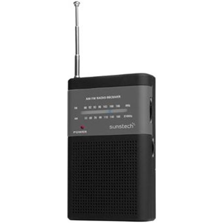 Sunstech radio bolsillo RPS42BK negra