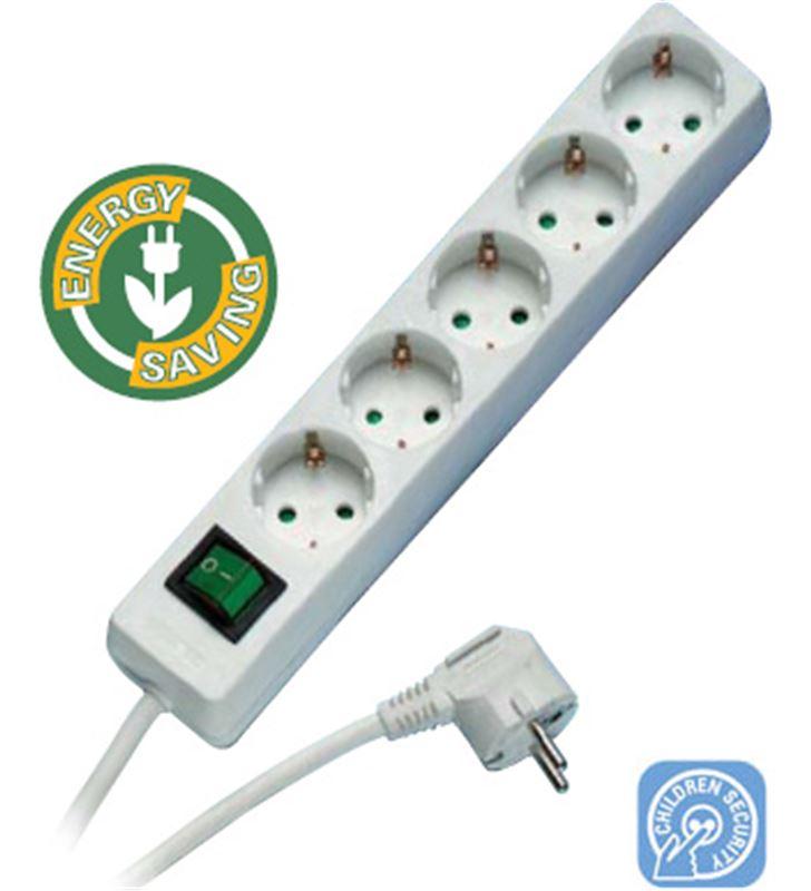 Vivanco 27016 regleta ebls 5w 1x5 blanca Cables - EBLS-5W-27016