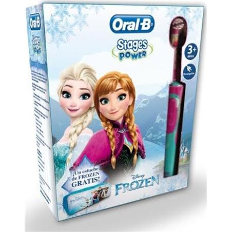 Braun oral b cepillo dental d12 stages frozen packfrozen D12VITALITYFRO\