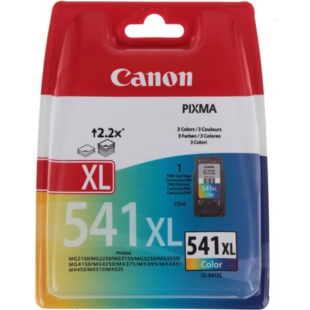 Cartucho tinta Canon cl-541xl color P149240