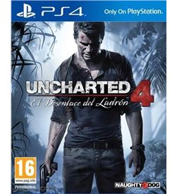 Sony juego ps4 uncharted 4 sps9454410 - 9454410
