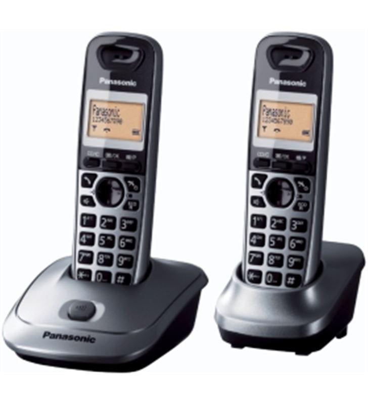 Telefono inal Panasonic kx-tg2512spm duo gris KXTG2512SPM - KXTG2512SPM