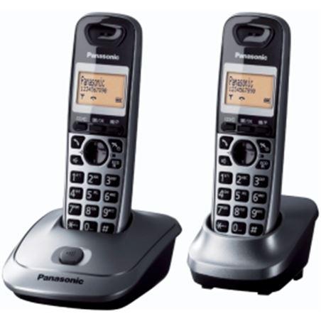 Telefono inal Panasonic kx-tg2512spm duo gris kxtg2512spm