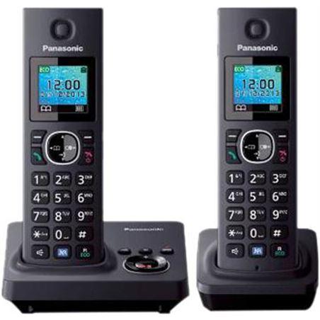Telefono inal Panasonic kx-tg7852spb duo 1.46'' col KXTG7852SPB