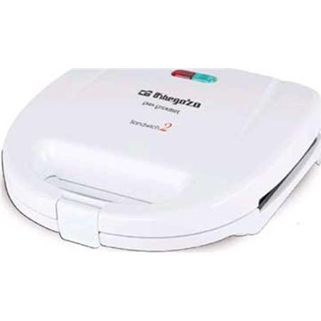 Sandwitchera Orbegozo sw4350 2 unidades blanca SW4300