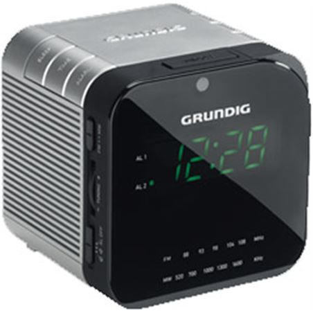 0001008 radio reloj grundig sonoclock590 gkr2800