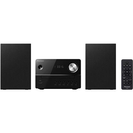 Micro cadena Pioneer x-em15 cd negra 10+10 usb xem16