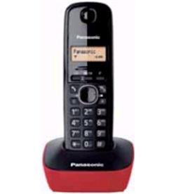 Panasonic KXTG1611SPR telefono inal kx-tg1611spr rojo - KXTG1611SPR