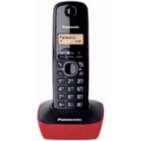 Telefono inal Panasonic kx-tg1611spr rojo KXTG1611SPR
