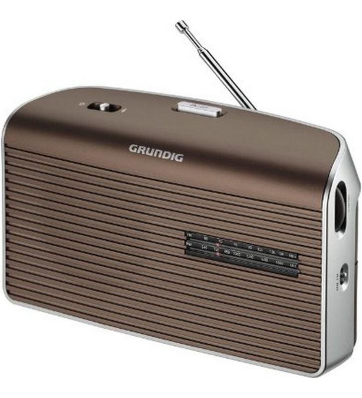 0001008 radio portatil grundig grn1550 music 60 mocca - GRN1550