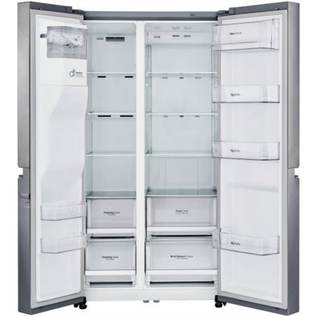 Lg frigorifico side by side GSL760PZXV no frost a+ inox