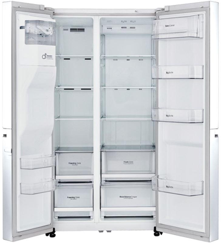 Lg GSL760SWXV frigorifico side by side no frost a+ blanco - GSL760SWXV