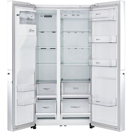 Lg frigorifico side by side GSL760SWXV no frost a+ blanco