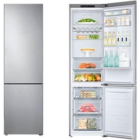 Samsung frigorifico combinado RB37J5025SA no frost a++ inox