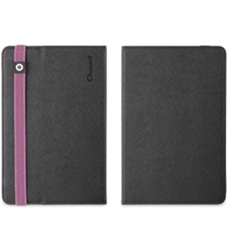Muvit funda tablet 8. universal negra/purpura con tira muctb0199 - MUCTB0199