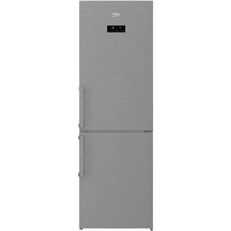 Beko frigorifico combinado RCNA320E21X no frost a+ inox