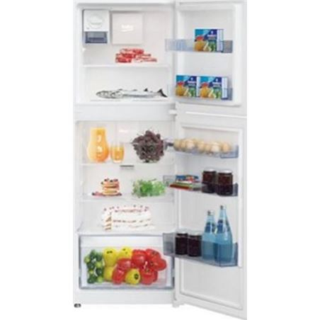 Beko frigorifico 2 puertas RDNT230I20W no frost a+ blanco