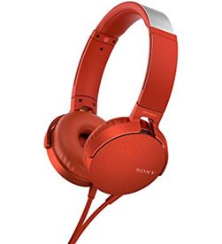 Auricular diadema Sony mdr-xb550apr micro rojo MDRXB550APRCE7 - MDRXB550APR