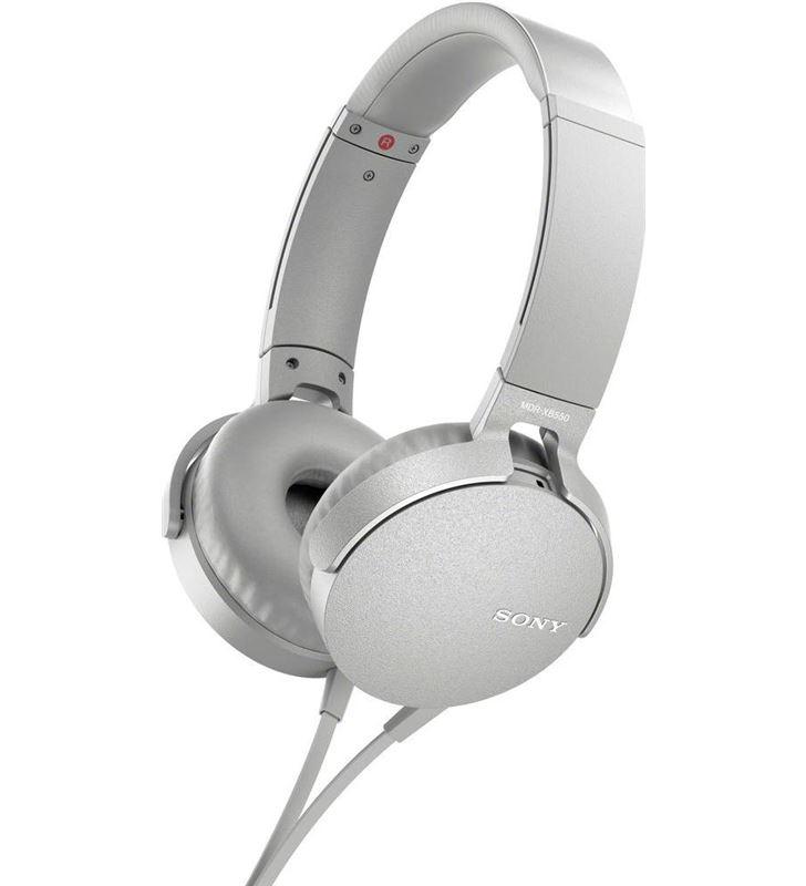 Auricular diadema Sony mdr-xb550apw blanco micro MDRXB550APWCE7 - MDRXB550APW