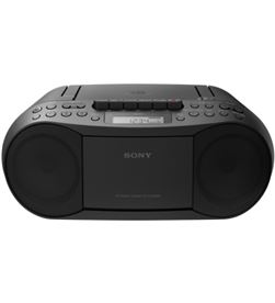Sony CFDS70B radio cd con cassette ced negro Radio Radio/CD - CFDS70B
