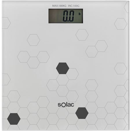 Bascula baño digital Solac pd7623 SOLPD7623