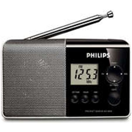 Radio digital Philips ae1850 funcio reloj