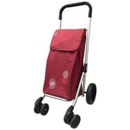 Playmarket carro compra play plegable six granate 24600295