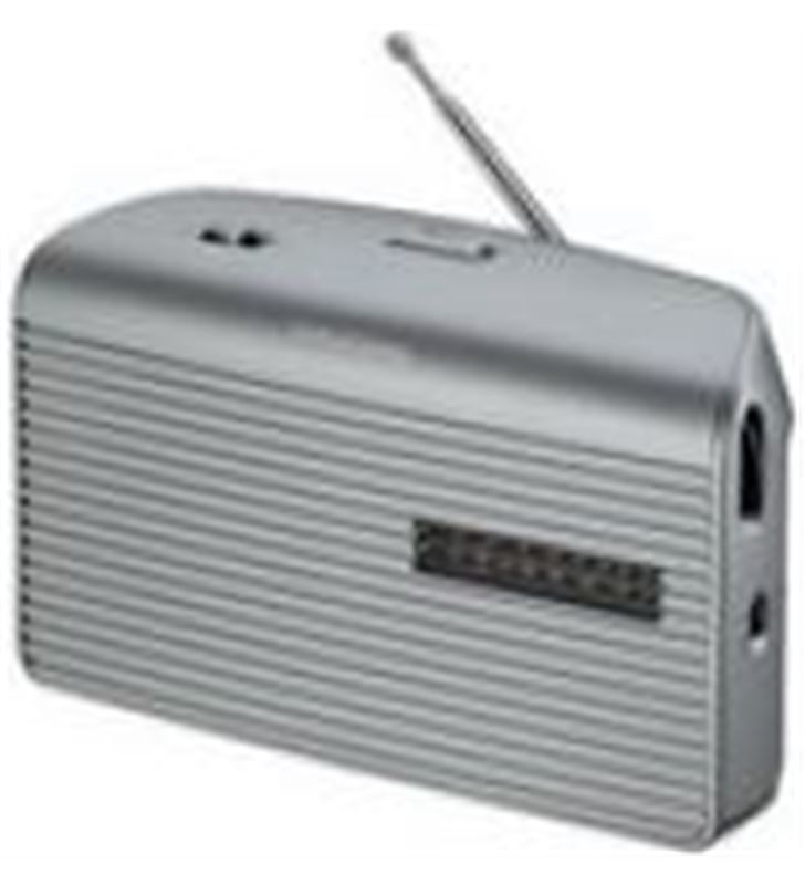 Grundig GRN1510 radio portatil music60 silver () Radio Radio/CD - GRN1510