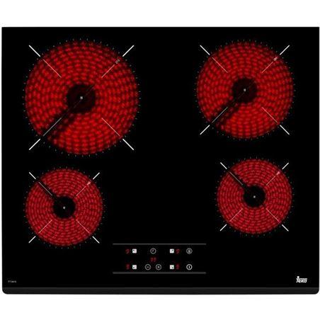 Placa vitro Teka tb6415 4f s/marco 40239042