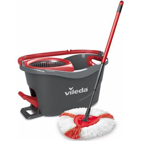 Fregona+cubo con pedal Vileda easy wring&clean 151153