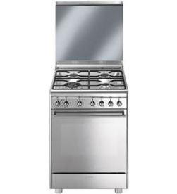 0001169 CX68M8-1 cuina smeg 4f 60cm inox cx68m81 Cocinas - CX68M8-1