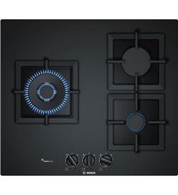 Bosch PPC6A6B20 placa gas 60cm 3quem cristal negro - PPC6A6B20
