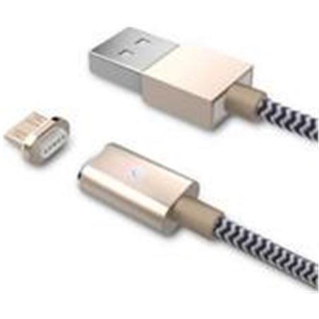 Cable usb/micro usb Bluestork 1m magnético SMART-MU-MAG