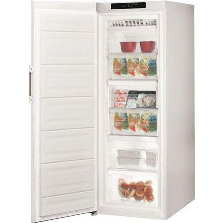 Congelador v Indesit UI6F1TW 167cm no frost blanco a+