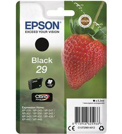 Cartucho tinta Epson claria 29 negro C13T29814012 Accesorios informática - EPSC13T29814012