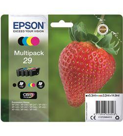 Cartucho tinta Epson claria multipack color/black C13T29864012 - EPSC13T29864012
