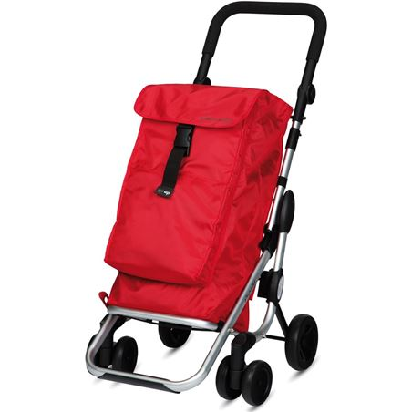 Playmarket carro compra play plegable go up rojo 24910r209